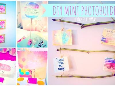 ♥ 4 DIY Mini Photoholders #MakeitinMay ♥