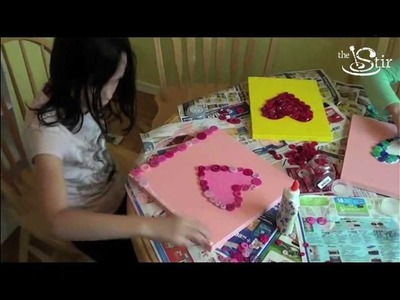 Adorable Valentine's Day Craft for Kids! - Crafty Mom's Weekly Challenge - Episode 31