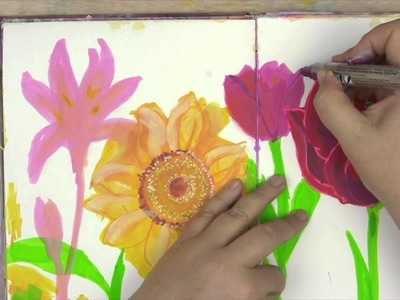 Art Lessons Vol. 6 - Paint Pens with Jane Davenport