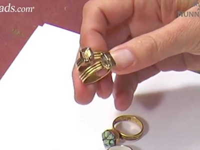 Artbeads Mini Tutorial - Prong Setting Rings with Becky Nunn