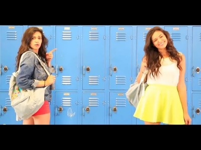 Bethany Mota | DIY Backpack to School Supplies Giveaway & Lunches After School snack ideas |