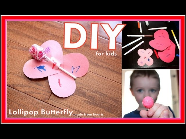 DIY Lollipop Valentine Ideas  Crafts for Holidays and