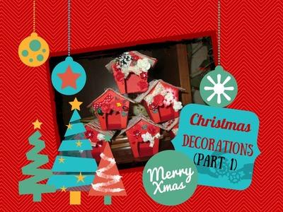 Decorazioni natalizie fai da te (Parte 1) - DIY Christmas Decorations (Part 1)