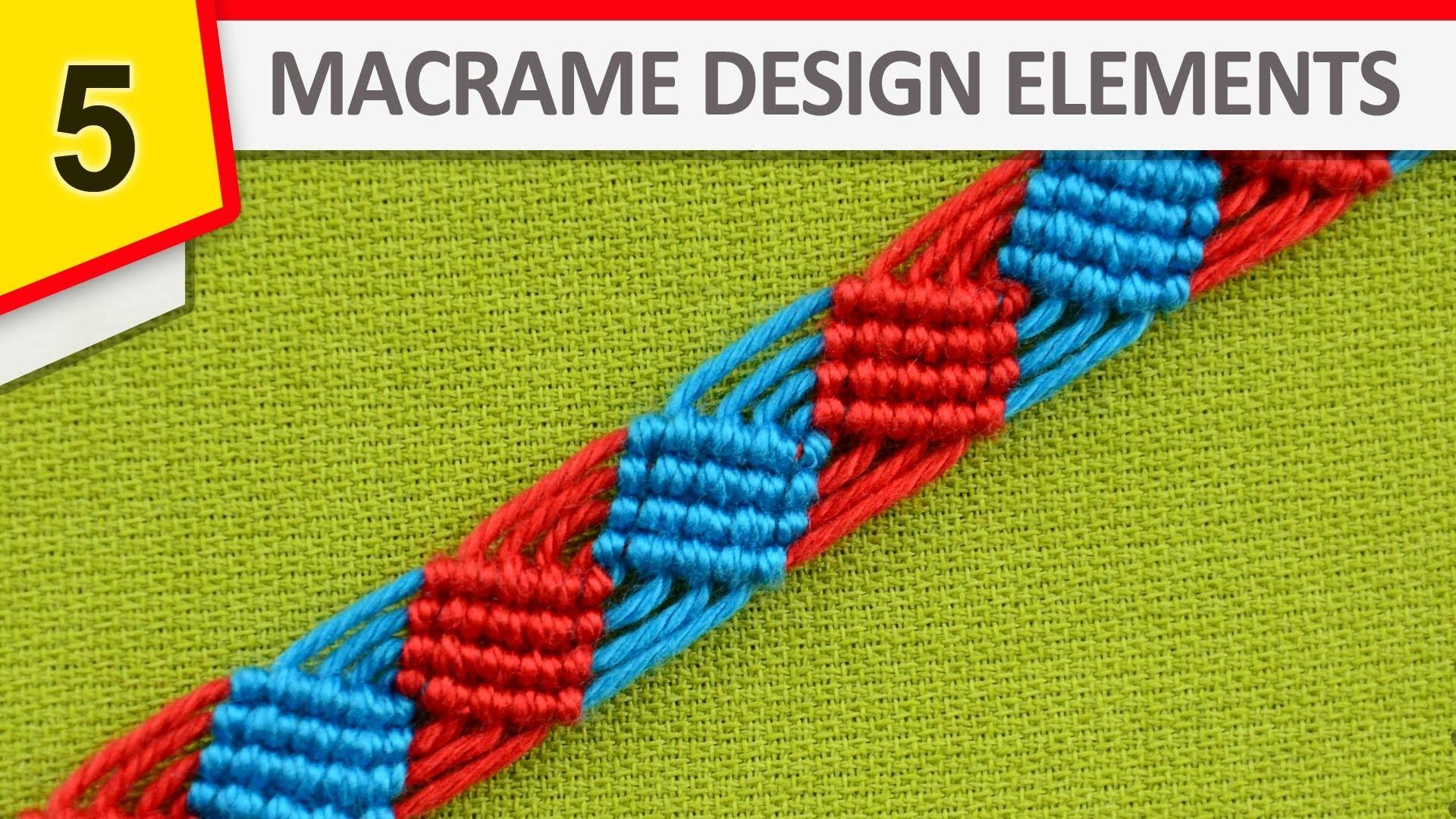 Design Elements - Squares, Diamonds, Rhombs (DIY)
