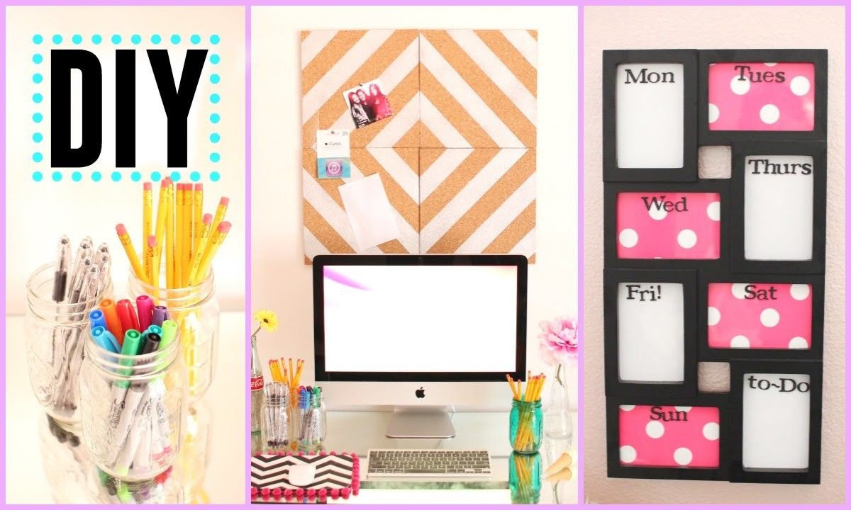 DIY Back to School Room Decor & Organization!