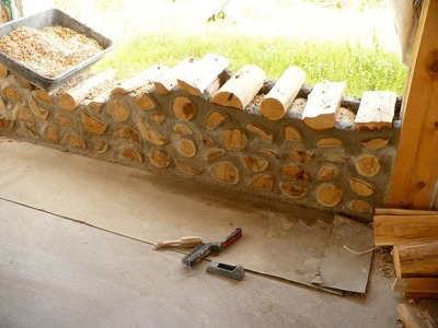 DIY cordwood construction - Semi tutorial