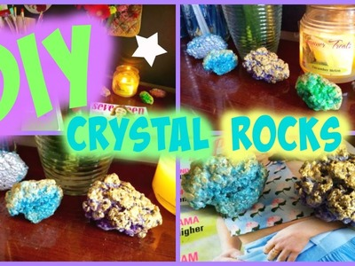 DIY: Crystal Rocks - Easy Craft!