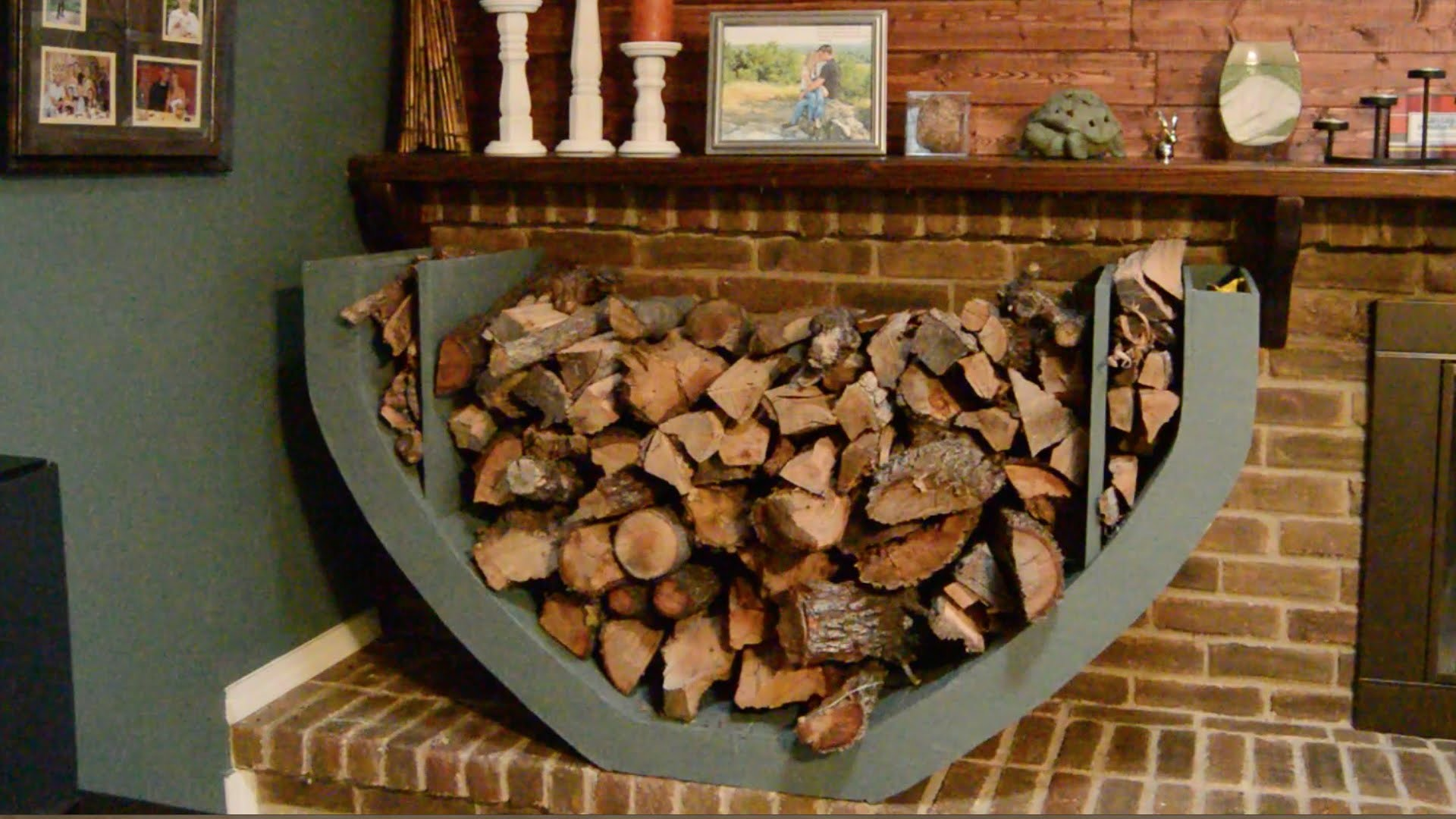 DIY Firewood Holder