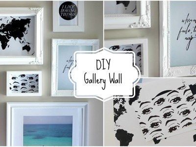 DIY Gallery Wall | DIY Room Decor