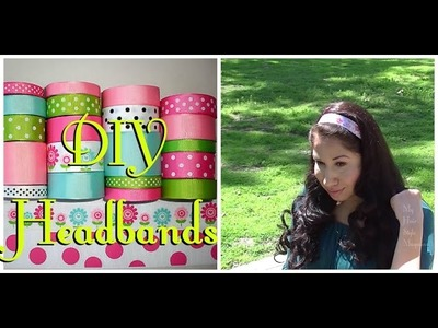 DIY: How to Make No Sew HEADBANDS !