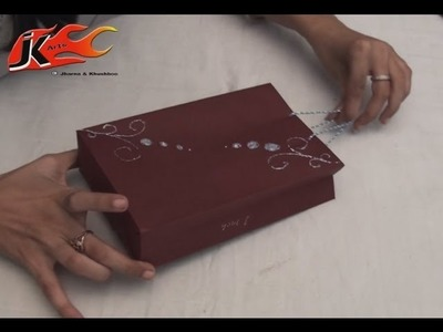 DIY How to make Paper Bags  - JK Arts 010