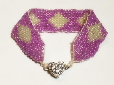 DIY Loom Beaded Bracelet