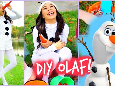 DIY Olaf - Frozen Halloween Costume! Easy and Affordable!