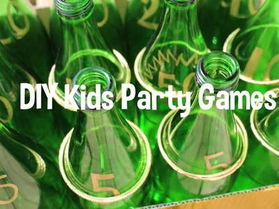 DIY Outdoor Party Games - Toddler, Kid friendly - Carnival