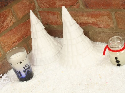 DIY - Paper christmas Tree - Coffee Filter Crafts