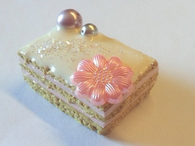 DIY Polymer clay: Tutorial Deco-cake! :)