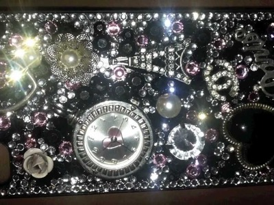 "DIY: Statement. ""Bling"" Cell Phone Case"