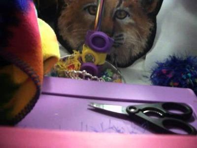 Doll Crafts! Scarf, Rug, and No-sew sleeping bag