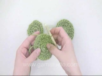 DROPS Crochet Tutorial: How to crochet circles
