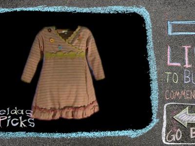 Girl's Stripped Dress