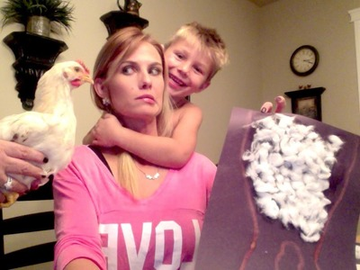 Halloween Crafts and Chickens
