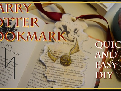 Harry Potter Bookmark : Quick & Easy DIY