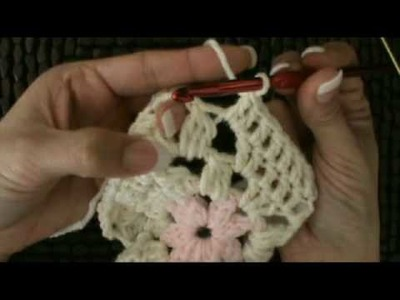 How To Crochet Granny Squares #4