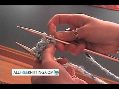 How to Knit Two Together (k2tog)