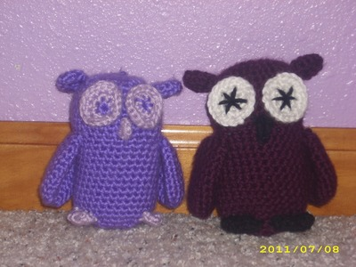 How to Make a Crochet Owl: Part 1
