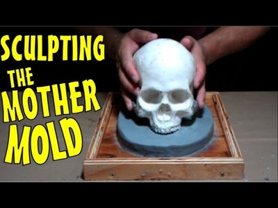 How To Make A Human Skull Mold Part One: Sculpting The Mother Mold