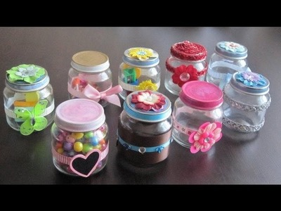How to make decorative gift containers out of recycled baby food jars - Recycling - EP