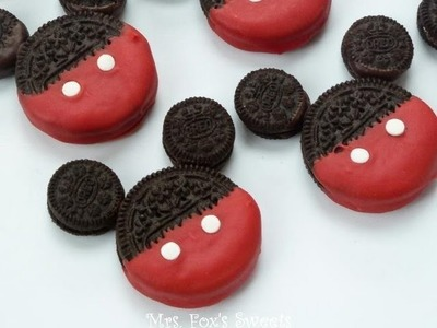 How to Make Mickey Mouse Oreos
