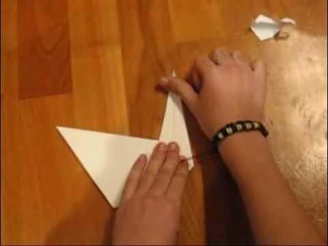 """How to make """"Prison Break"""" origami swan"""
