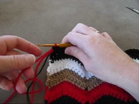 Joining Yarn & Adding a New Color by Crochet Hooks You