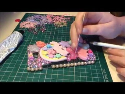 Kawaii DIY Decoden Phone case Tutorial! ♥