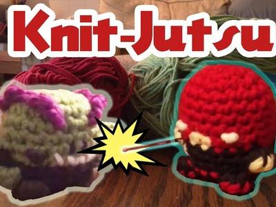 Knit-Jutsu - a Yarnimation by Louie's Loops