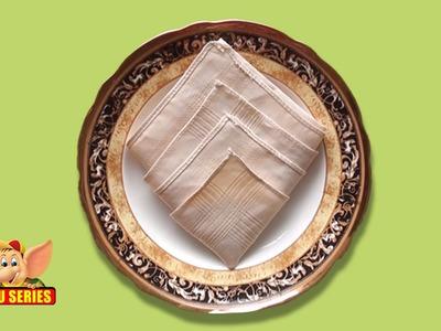 Learn the Diamond Napkin Fold