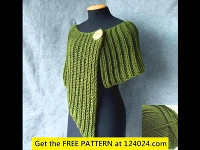 Learn to crochet poncho