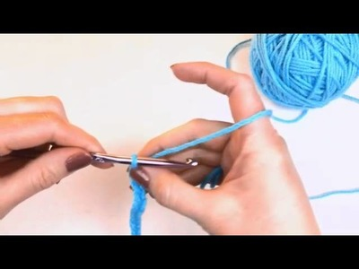 Left Hand Beginner Crochet: #5 How to Make a Crochet Chain