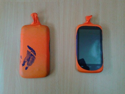 Life Hack #3: How to make your own DIY Smartphone case using Balloon in home