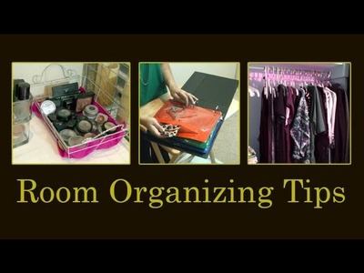 Makeup Storage, Closet Organization, T-shirt Folding Technique, and DIY Jewelry Storage