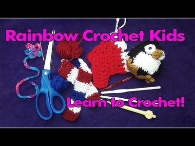 New Crochet Channel for Kids! - RainbowCrochetKids