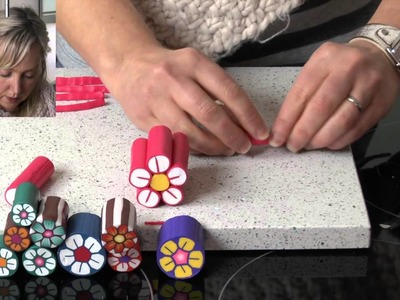 Polymer Clay Tutorials - How to make a flower cane