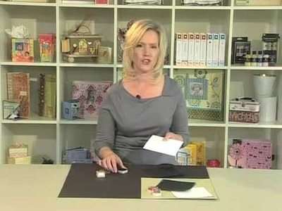 Scrapbook.TV - How to Ink the Edges of Cardstock
