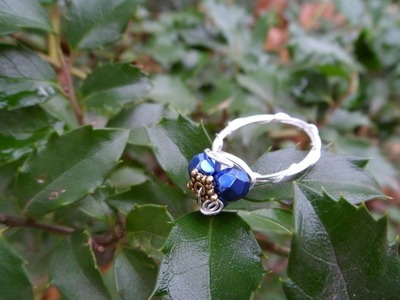 Silent Night Wire Wrapped Ring - Jewelry Making Tutorial