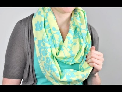 Tutorial: How to Sew an Infinity Scarf