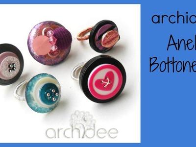 Tutorial | Riciclo Creativo | Mille e un bottone | DIY Buttons Reuse | Seconda Parte