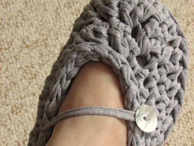 VERY EASY chunky crochet slippers tutorial - for beginners - all adult sizes