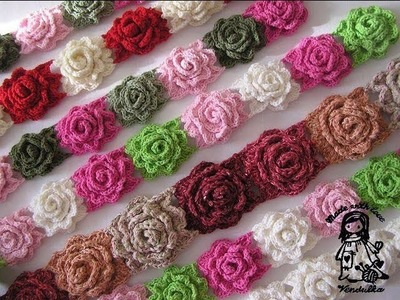 VERY EASY CROCHET ROSE