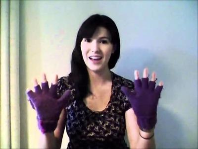 """Video Response to charlieissocoollike's video """"Fingerless Gloves"""""""